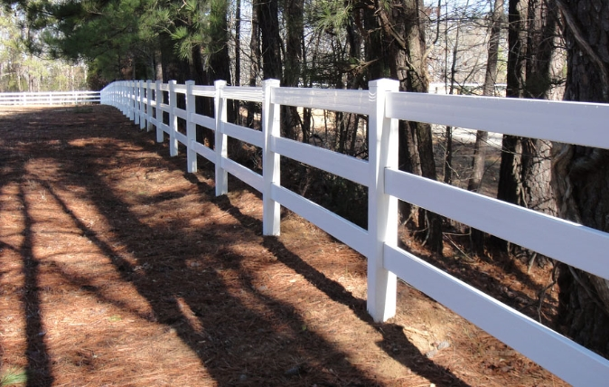 PVC Fencing - Dickerson Fencing Durham, NC