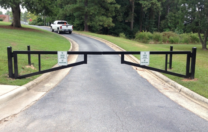 Security Gates - Dickerson Fencing Durham, NC