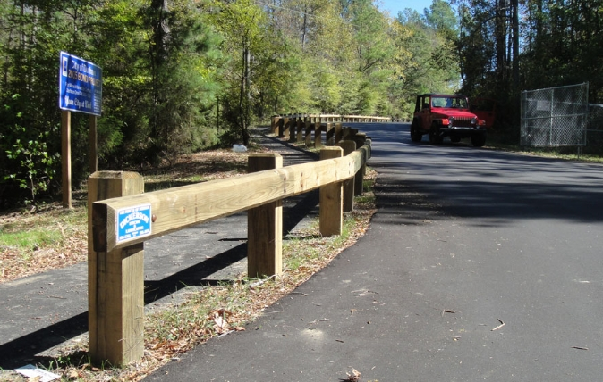 Guard rails - Dickerson Fencing Durham, NC