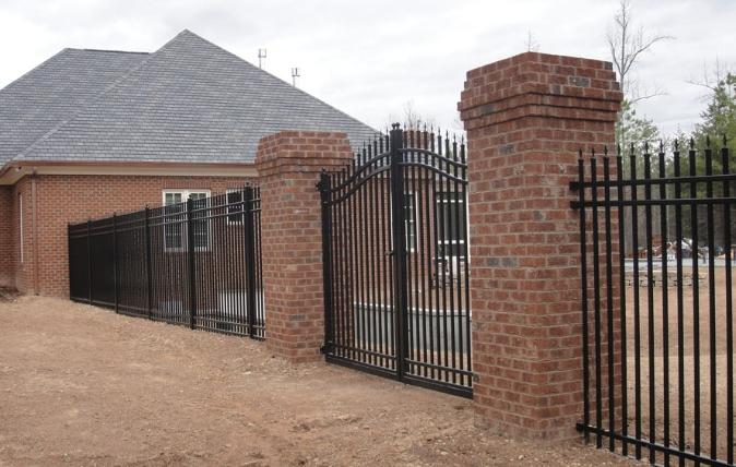 Aluminum Fences - Dickerson Fencing Durham, NC