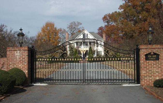 Estate Fences - Dickerson Fencing Durham, NC