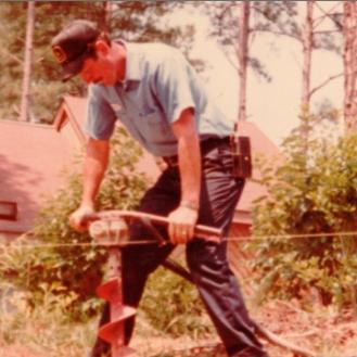 Durham NC Fence Company Auger