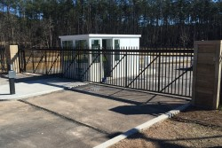 Commercial Gates & Operators - Dickerson Fencing Durham, NC