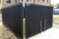 Dumpster Enclosures - Dickerson Fencing Durham, NC