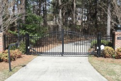 Estate Gates & Operators - Dickerson Fencing Durham, NC