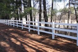 PVC Vinyl Fencing - Dickerson Fencing Durham, NC