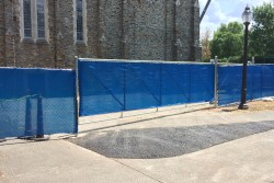 Temporary Construction Fencing - Dickerson Fencing Durham, NC