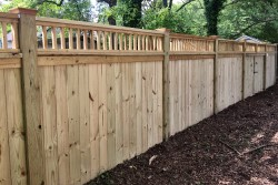 Wood Fences - Dickerson Fencing Durham, NC
